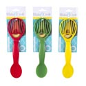 Avocado Slicer/scoop 2-n-1 10.375in Rounded/tcd Red-yellow-green Colors