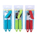 Can Opener Metal W/color Handle & Grip 3ast Colors B&c Tcd Red/blue/green