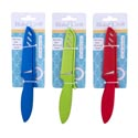 Paring Knife Soft Grip 8in 3ast Colors W/sheath B&c Tcd Green/blue/red