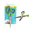 Herb Scissors 6 Blades 2ast Color *9.99* B&c Tie Card