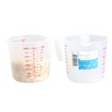 Measuring Cup 1qt/32oz Plastic W/handle Kitchen Label
