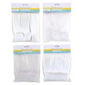 Cutlery Plastic 36ct Mixed & Solid Fork/spoon-clear/white Ea B&c Pbh