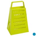 Grater 4-n-1 Box 100% Plastic 2ast Color B&c Ht 3.54 X 4.72 X 7.48in