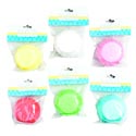 Baking Cups 75ct 2.5in Dia 6ast Colors Pbh