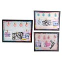 Frame W/7 Clips Led Light-up 12x16in Love/home/heart 2xaaa Batteries Not Included