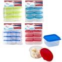 Mini Storage Container 6pk 4ast Summer Brites Square/round Summer Pbh