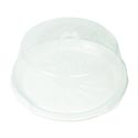Cake Saver W/locking Lid Clear Top White Base 12.2dia X 4.6h 190g B&c Ht