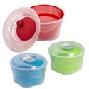 Salad Spinner Plastic 3ast Color 4qt Shrink/b&c Label *12.99* Green/red/turquoise