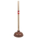 Plunger 19in W/wood Handle