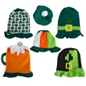 St Pat Felt Hat 6ast Styles Ht/jhook Adult Use