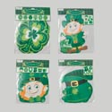 Cutouts/banners St Patrick 4ast 2ea Jointed Banner/6ct Cutout St Pat Pbh