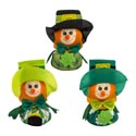 Leprechaun Big Belly Table Decor 7in 3ast Stpat Ht