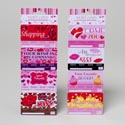 Debit Card Valentine 4pk 2asst/i Owe Yous Val Perforated Header