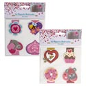 Bookmark Magnetic 4pk 2in 2 Asst Combos/val Pb W/hdr Insrt