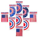 Banner Patriotic 12ft 3asst 2asst Bunting/flag 3 Finish Patriotic Polybag/header