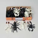 Bugs Creepy Hanging 7.75in Ant/ Scorpion Black/gid In 36pc Pdq Wtd To Black Hall Ht