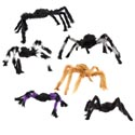 Spider Hairy 2 Sizes 22/30in Ea In 3 Colors Hlwn Hangtag