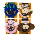 Animal Costume 2-3pc Deluxe Plsh 4ast Unicorn/giraffe/dino/puppy Set Tail/headband/nose Tcd