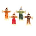 Scarecrow Harvest Hanging Decor 25in 4ast Styles Harvest/ht