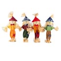 Scarecrow Harvest Standing Decor 18in 4asst Styles Harvest/ht