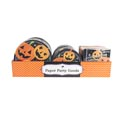 Paper Party 48pc Pdq Pumpkin Happy Halloween 8ct 7/9in Plate& 16ct 13x13in Napkin Shrink/label