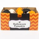 Pumpkin Matte Finish 3ast Clrs White/black/orange Ht/36pcpdq