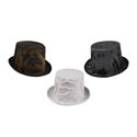 Hat Creepy Cloth Tophat 3ast Steampunk/zombie/vampire Hlwn Hangtag