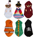 Pet Costume 6ast Deluxe Polyster Tcd/ht Assortment In Notes