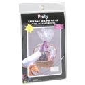 Basket Shrink Wrap 24x30 W/4 Accent Ribbons Party Pb/insert