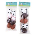 Easter Egg Sport 5pk Lg/8ct Med 4ast Basket/foot/baseball/soccer Easter Pbh