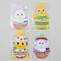 Easter Egg Shrink Wrap Decor 12ct/pk 4ast 12pc Merchstrip Envlp/polybag