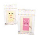 Easter Door Cover 30x60 Chick/bunny W/diy Face Pieces Easter Pb Insert Card