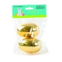 Easter Egg Golden Jumbo 2pk Easter Polybag/header Insert