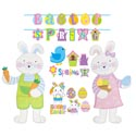 Cutouts/banners Easter/spring 6ast 6ct/6ft/36in Jointed Easter Pbh