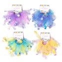 Hairbands 2pk W/easter/spring Icon Dangles 9.5in Dia 4ast Clrs 12pc Mdsg Strip/pbsleeve
