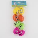 Easter Egg Emoticon Plastic 8pk Easter Pbh