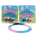 Train Playset Easter Windup 2ast Color Basket Stuffer/blistercard
