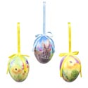 Easter Egg Ornament Decoupage 3ast Print 2.55x3.54in Easter Ht