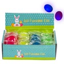 Flashing Led Light-up Egg In 12pc Pdq 4ast Color Eggs Ea Wrapped W/easter Label