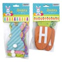 Banner Easter 6ft 2asst Bunny/carrot W/tip On Accents Easter Pbh