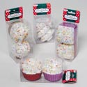 Ornament 2pk Cupcake Rnd/square Or Candy Tree 4ast Pvc Box/label