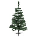 Christmas Tree 36in/3ft Green Canada Pine 70stems On Plastic Base Christmas Ht