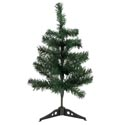 Christmas Tree Green Pine 15.7in W/35 Tips/plastic Base Ht/openpb