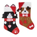 Pet Stocking Deluxe 18in 18 Dog/6 Cat