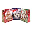 Gift Bag Large Pet Theme 3ast Hotstamp 10x12.5x5in Ht/jhook