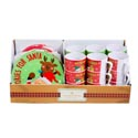 Cookies For Santa/elf 36pc Pdq Mug And 8in Plate Melamine