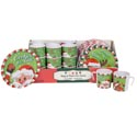 Cookies For Santa/reindeer 2ast 8in Plate/10oz Mug 36pc Pdq Upc Christmas Label