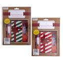 Door Cover W/3d Bow 30x60in 2ast Candy Stripe Design Pb/ins