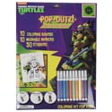 Activity Kit Tmnt Pop Outz 10 Color Brds-10 Markers- *3.99* 50 Stickers