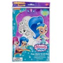Art Boards Shimmer And Shine Pop Outz! Markers,stickers,and Pop Out Characters